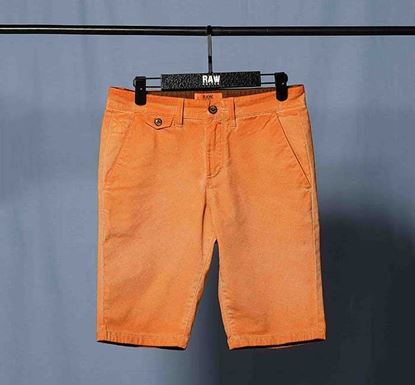 Slim Fit Cotton Chino Shorts RN-MEH-SS21-SRT2103Orng
