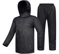 High Quality PVC Double Layer Raincoat for Bikers - PDP2