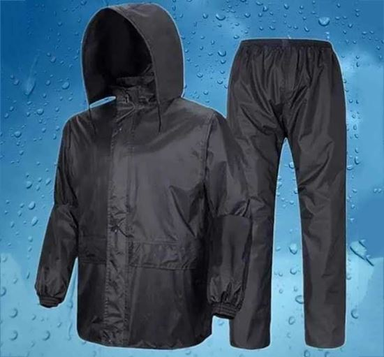 High Quality Polyester Raincoat for Men - PDP1