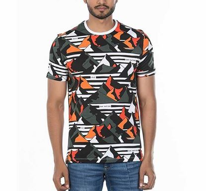 Muscle Fit Camouflage T-shirt for Men RN-AL-SS20-MT424