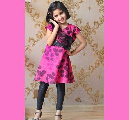 Cotton Frock for Baby Girl - DB1189P