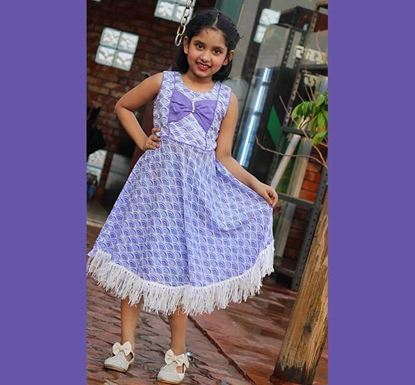 Cotton Frock for Baby Girl - DB1195P