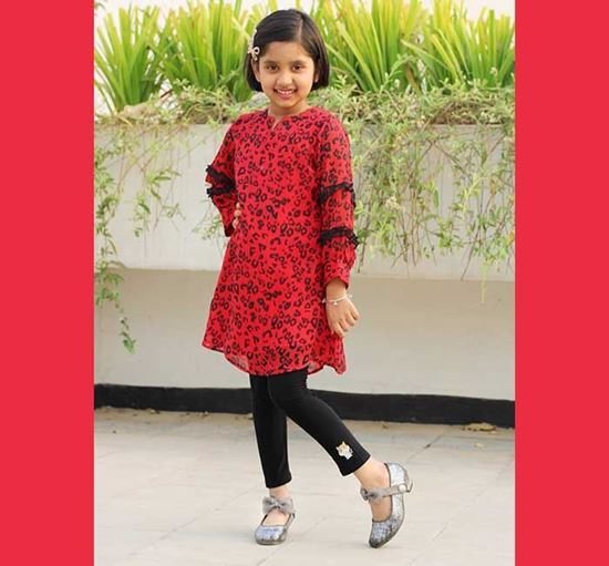 Georgette Tops for Baby Girl - DB1151