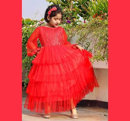 Stylish Gown for Baby Girl - DB1184R