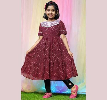 Long Frock for Baby Girl - DB1202M