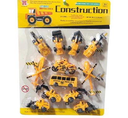 Construction Toy Set for Kids (12 Pieces)