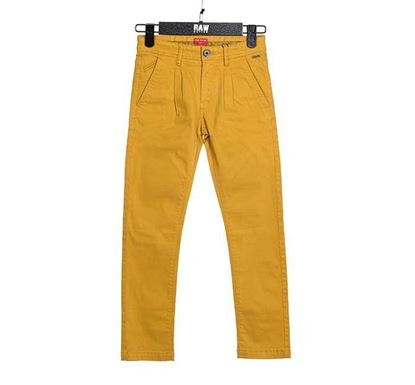 Easy Fit Chino Pant for Boys YLLW - CHINO 76KB