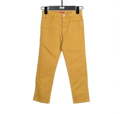 Slim Fit Chino Pant for Boys YLLW - RN-SS17-KCP211