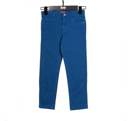 Slim Fit Chino Pant for Boys BLUE - RN-SS17-KCP211