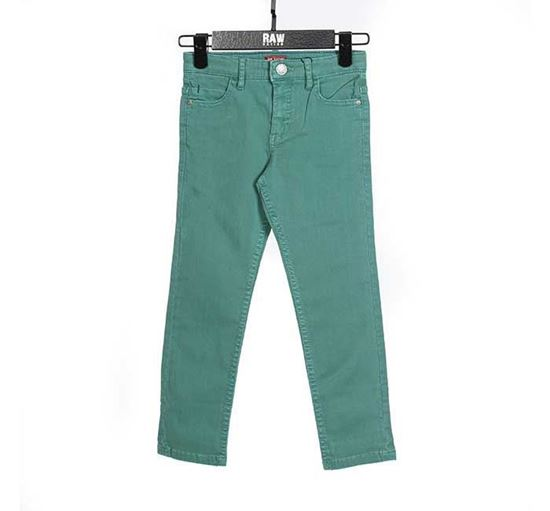 Slim Fit Chino Pant for Boys GRN - RN-SS17-KCP211