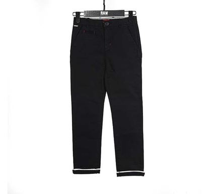 Slim Fit Chino Pant for Boys BLK - RN-SS17-KCP222