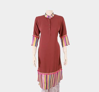 Viscose Georgette Tops for Women T-144