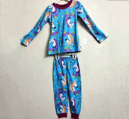 Full Sleeve T-shirt with Pant Dress Set for Kids PS-501