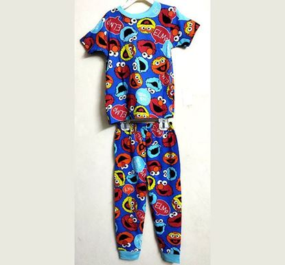 Half Sleeve T-shirt with Pant Dress Set for Kids PS-504