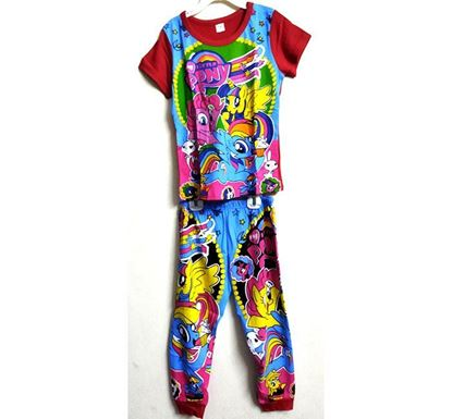 Half Sleeve T-shirt with Pant Dress Set for Kids PS-505