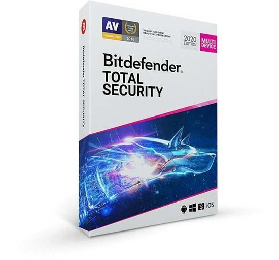 Bitdefender Total Security 2020 5 Devices 6 Months
