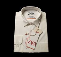 Cotton Shirt with Lapel Collar for Men - BE001