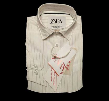 Cotton Shirt with Lapel Collar for Men - BE003