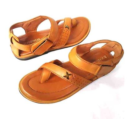 Casual Leather Sandal for Men BSX4