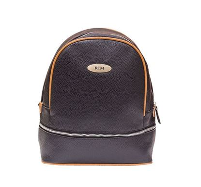 Leather Backpack for Ladies RB-114 BLK