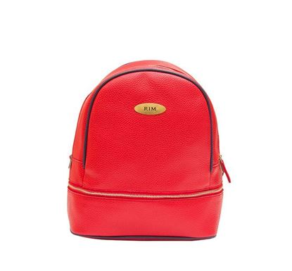 Leather Backpack for Ladies RB-114 RE