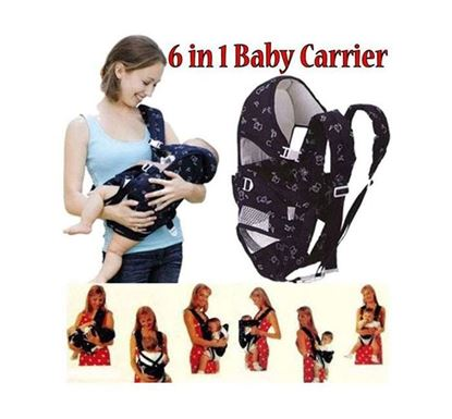 Cotton Baby Carrier Bag 6 Ways