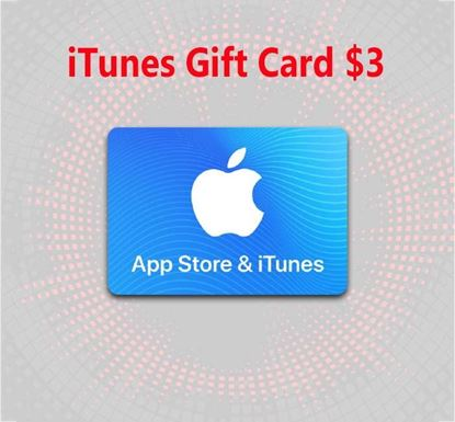 iTunes Gift Card $3