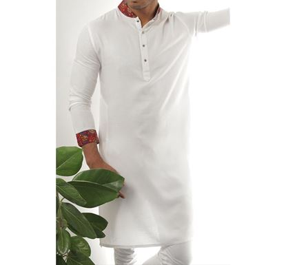 Hand Crafted Indian Punjabi for Men - CONTRAST A