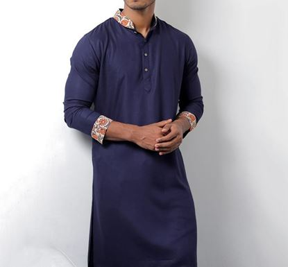 Hand Crafted Indian Punjabi for Men - CONTRAST B