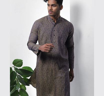 Hand Crafted Indian Punjabi for Men - Print A