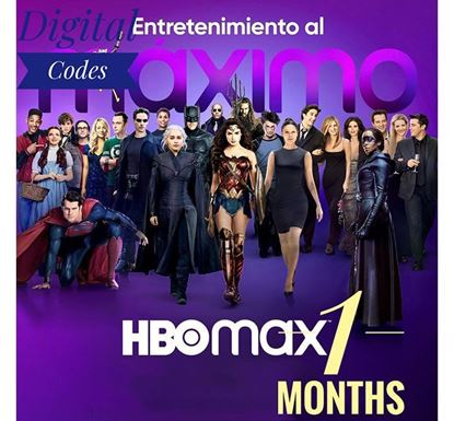 HBO Max 1 Month (USA Region)