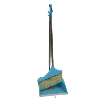 Long Handle Cleaning Brush with Dustpan RH - 00020