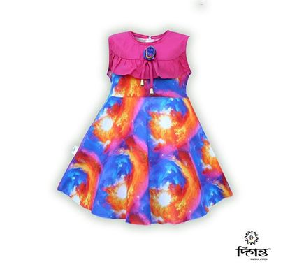 Diganta Cotton Frock for Baby Girl SF-519