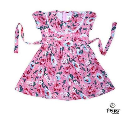 Diganta Cotton Frock for Baby Girl HF-477
