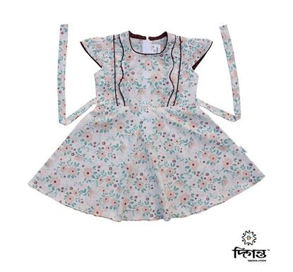 Diganta Cotton Frock for Baby Girl HF-514