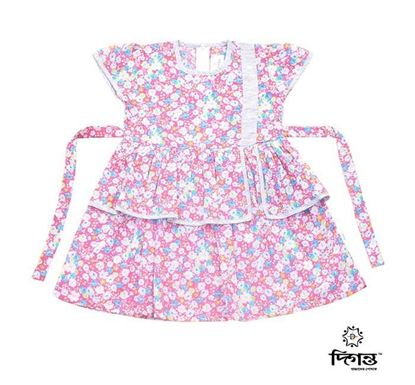 Diganta Cotton Frock for Baby Girl HF-525