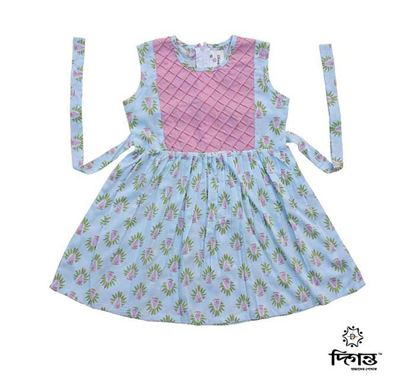 Diganta Linen Frock for Baby Girl SF-542