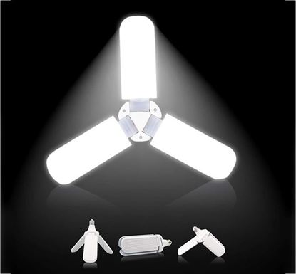 Blade Fan with Super Bright Foldable Adjustable Ceiling Lamp 45W