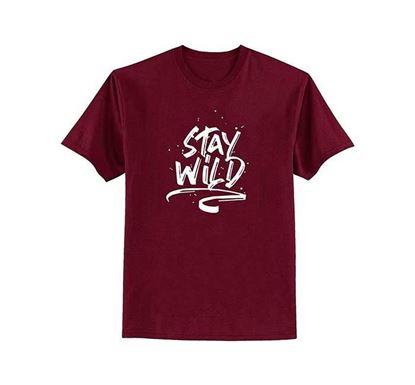 Stay Wild Half Sleeve T-shirt for Men – TOS101