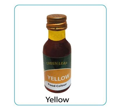 Green Leaf Yellow Food Color 28ml