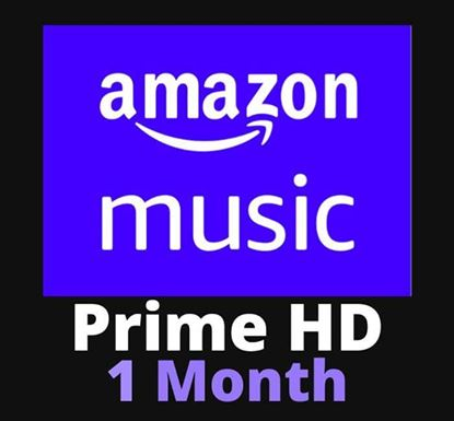 Amazon Prime Music Unlimited 1 Month Subscription