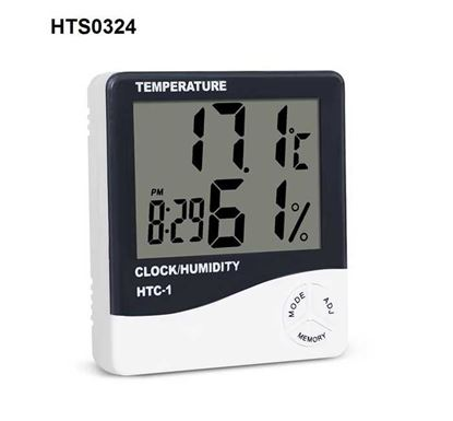 Room LCD Electronic Digital Temperature Humidity Meter - HTS0324