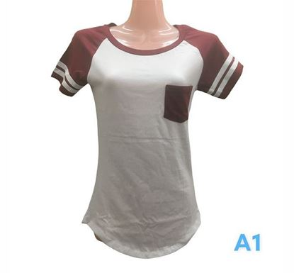 Half Sleeve T-shirt for Ladies - A1