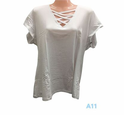 Half Sleeve T-shirt for Ladies – A11