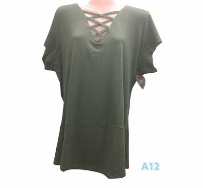 Half Sleeve T-shirt for Ladies – A12