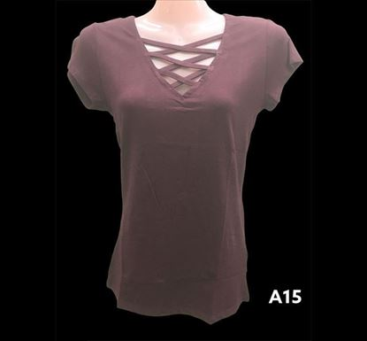 Half Sleeve T-shirt for Ladies – A15