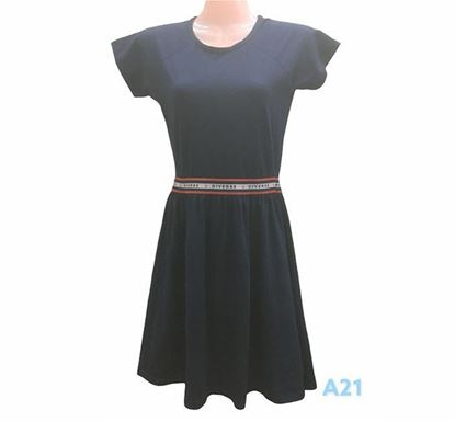 Flared Dress for Ladies - A21