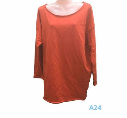 Full Sleeve Solid Tee for Ladies – A24