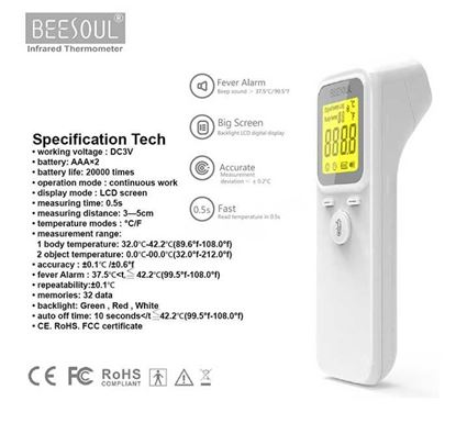 Beesoul Non-Contact Infrared Thermometer