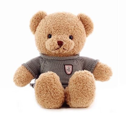T Bear With Sweater Toys for Kids - TKS15